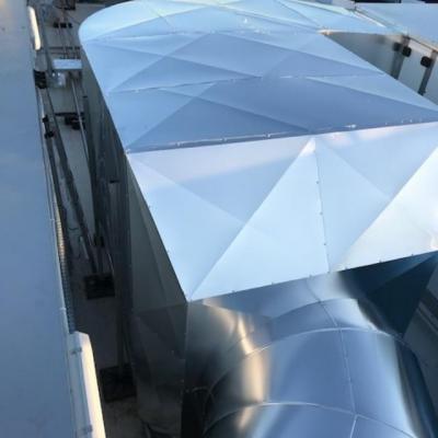 Calorifuge gaine de ventilation en toiture sur Toulouse