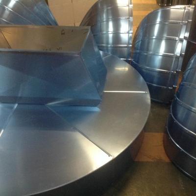 Réalisation de préfabrication en tôlerie fines