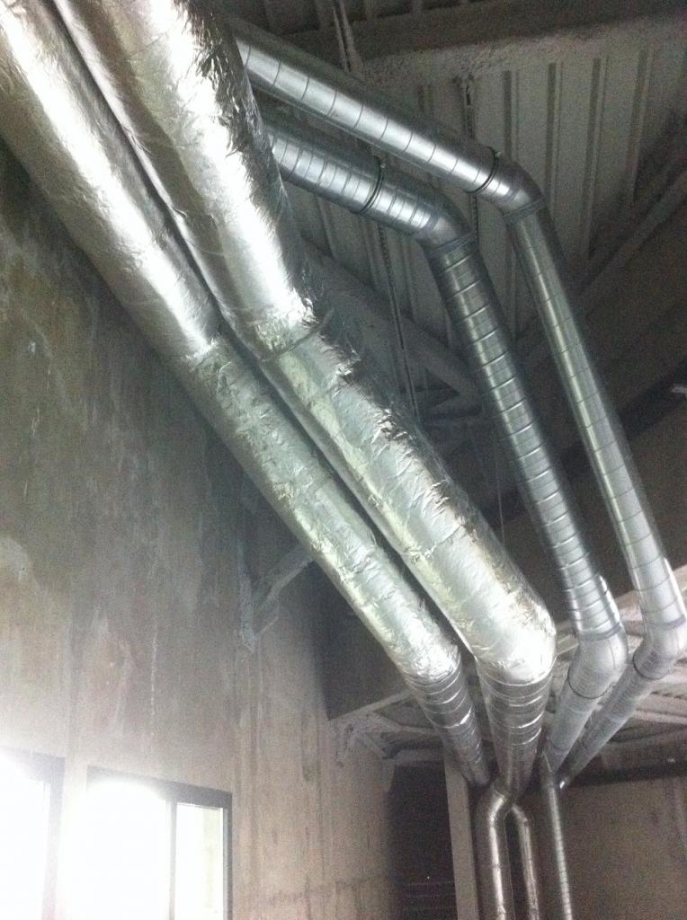 Calorifuge gaine de ventilation en climaver - Gaine de ventilation ...