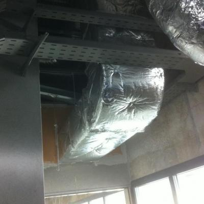 Calorifuge Gaine de ventilation en climaver