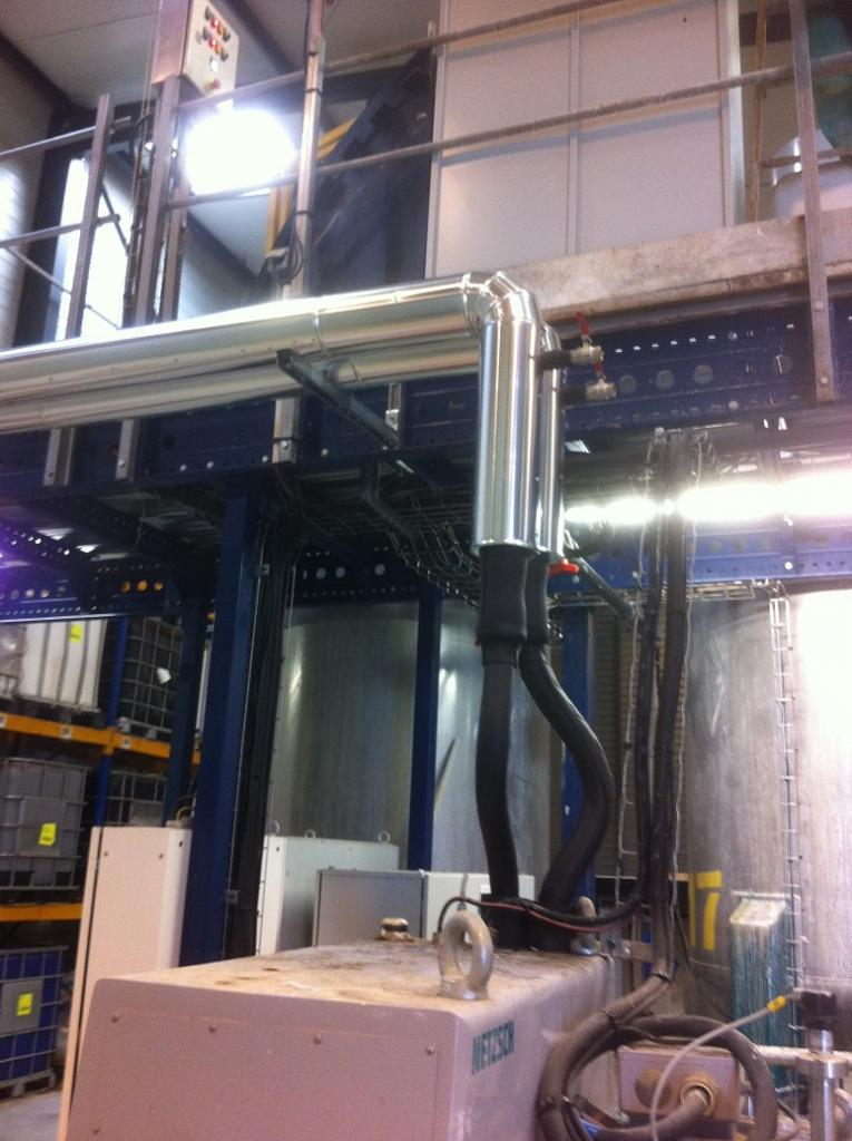 Calorifuge Armaflex revêtement tôle aluminium