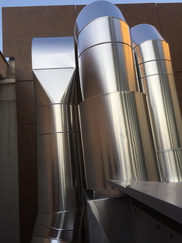 Calorifuge gaine de ventilation extérieur  toulouse